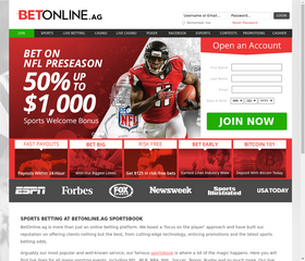 Bet on football with BetOnline