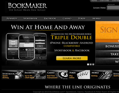 Bet on football with Bookmaker
