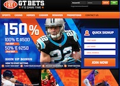 Bet on football with GT Bets