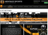 Bet on football with Heritage
