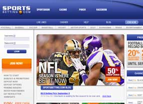 Bet on football with SportsBetting.ag